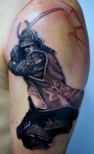 30 best warrior tattoo designs and meanings with pictures for Warrior bible verse tattoos