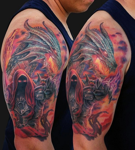 Warrior Tattoo 11