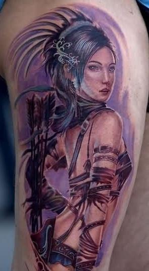 Warrior Tattoo 13