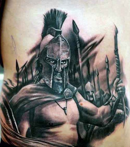 Warrior Tattoo 15