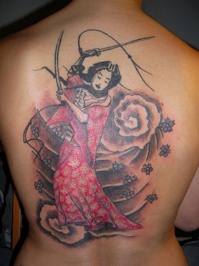 Warrior Tattoo 9