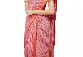 how to wear a Nauvari saree