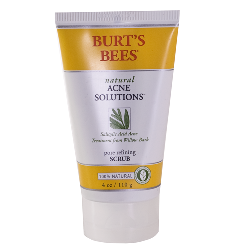 Acne Products for Pregnant Women - Burt's Bees Natural Acne Solutions Scrub