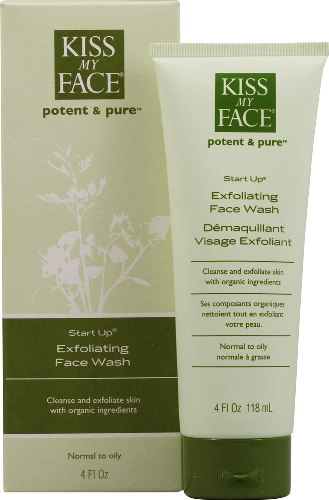 Acne Products for Pregnant Women Kiss My Face Exfoliating Face Wash