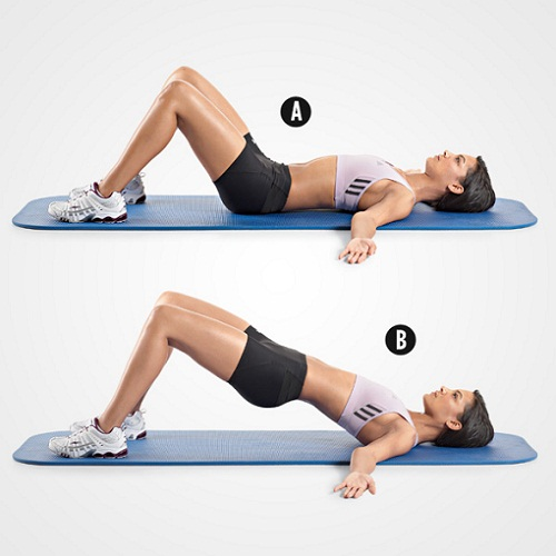 Exercises To Do During First Trimester - Hip Raises