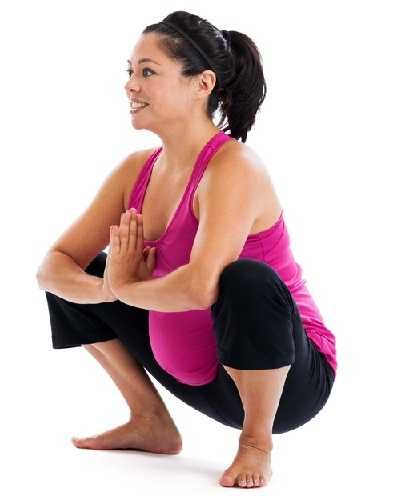 Exercises You Can Do During Third Trimester - SQUATS