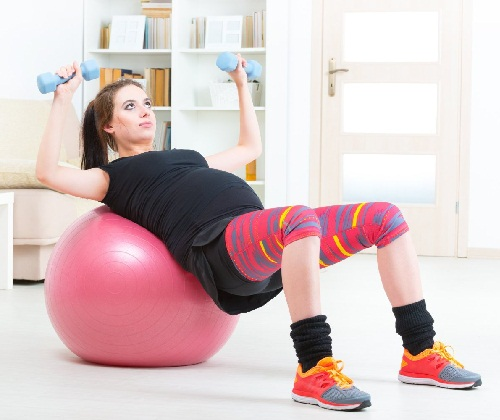 Exercises You Can Do During Third Trimester - STRETCHING