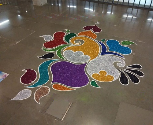 top 9 floor rangoli designs styles at life