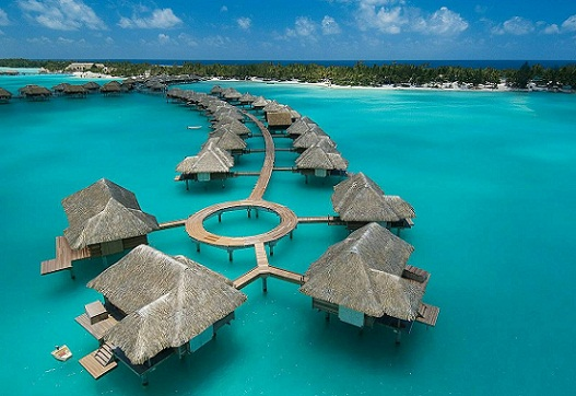 Honeymoon Places For Young Couples-Tahiti