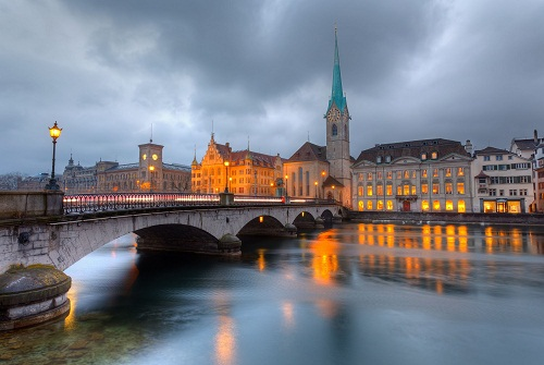 Honeymoon Places In Switzerland - Zurich