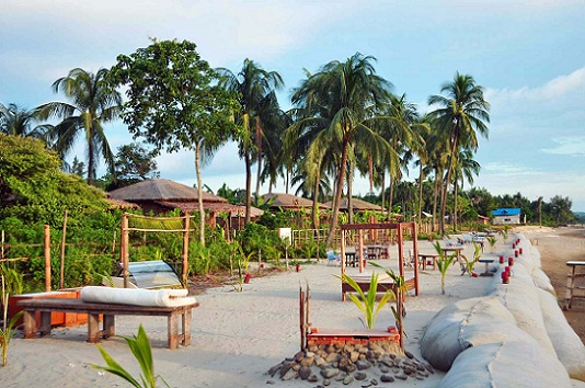 Honeymoon Places in Bangladesh--Mermaid Beach