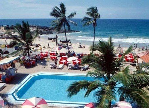 Honeymoon on a Private Beach Hotel Sea Face, Kovalam