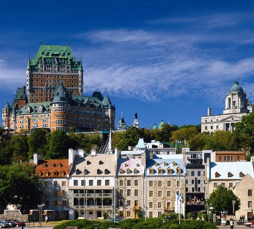 Honeymoon places in Canada Quebec City