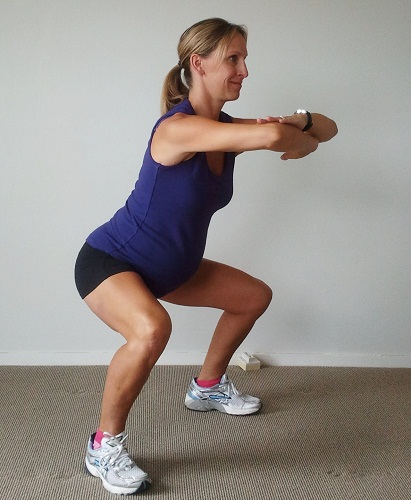 Kegel Exercises To Try Out During Pregnancy - Squat