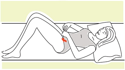 Kegel Exercises To Try Out During Pregnancy -Squeeze with finger
