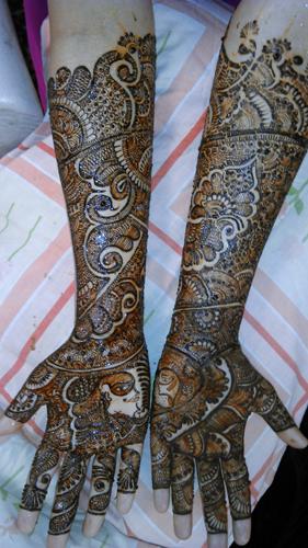 Mehendi Designers In Hyderabad - Anil Mehendi Art