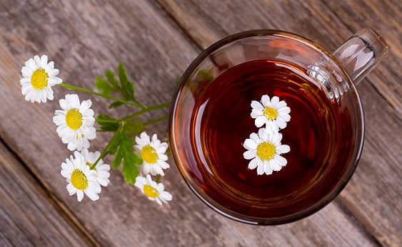 Remedies to Prevent Belching -Chamomile Tea
