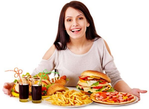 Salty Food Cravings During Pregnancy - Fast Food