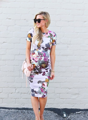 Summer Dresses During Pregnancy - Flowers Are In