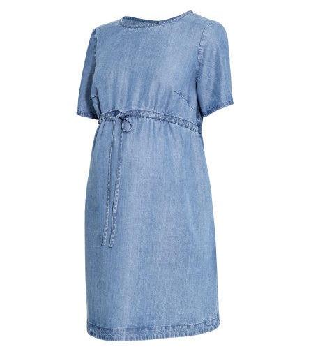 Summer Dresses During Pregnancy - The Denim Drawstring