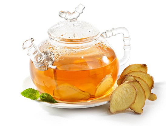 Teas During Pregnancy-Ginger tea root