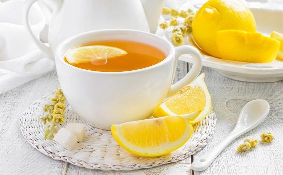 Teas During Pregnancy-Lemon tea