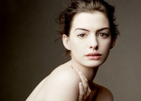 Anne Hathaway without makeup 6