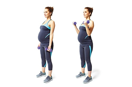 arm exercises during pregnancy