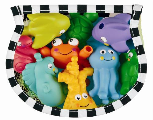 Baby Toys-Bath Squeeze Toys Set