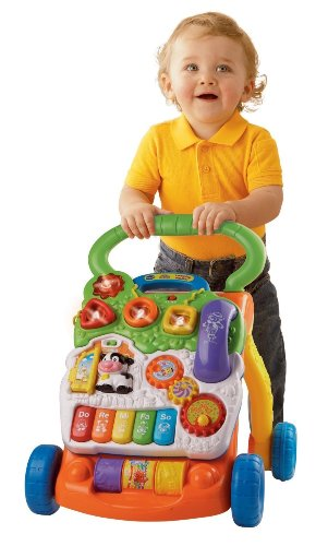 Baby Toys-Push Toy For Sitting, Standing, and Walking