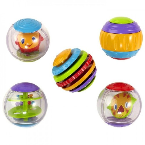 Baby Toys-Set of Small Rattle Balls