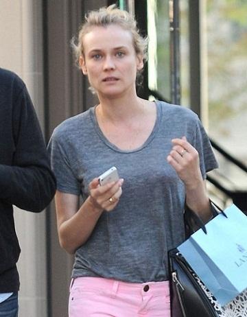 Diane Kruger without makeup 1