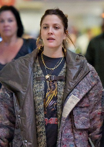 Drew Barrymore without makeup 10