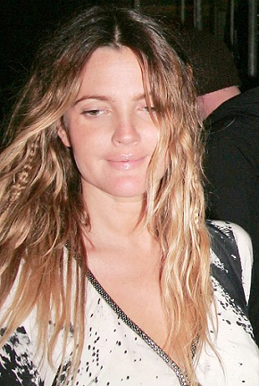 Drew Barrymore without makeup 6