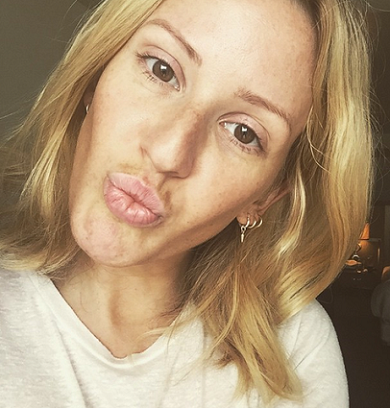 ellie goulding without makeup