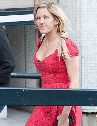 Ellie Goulding without makeup 6