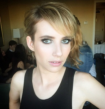 Emma Roberts without makeup 10