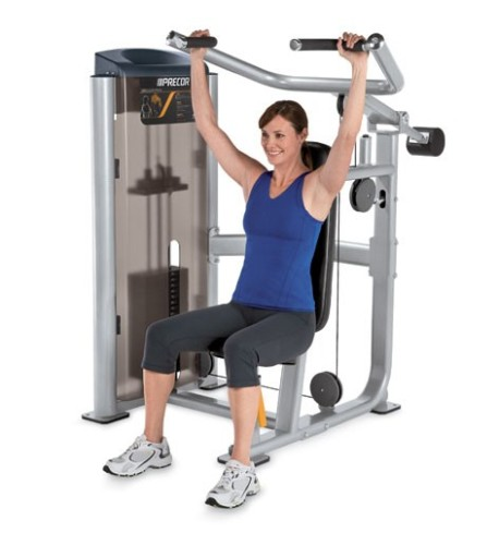 Exercises During Second Trimester-Shoulder press