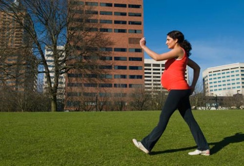 Exercises During Second Trimester-Walking