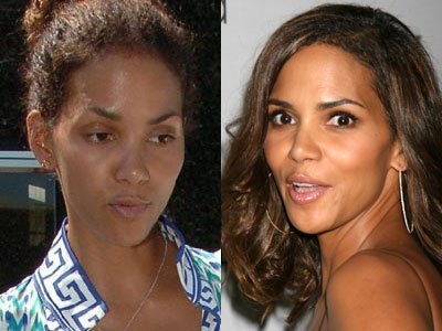 Halle Berry without makeup 2
