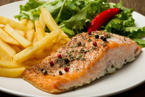 Healthy Foods For Your Third Trimester Diet-Salmon