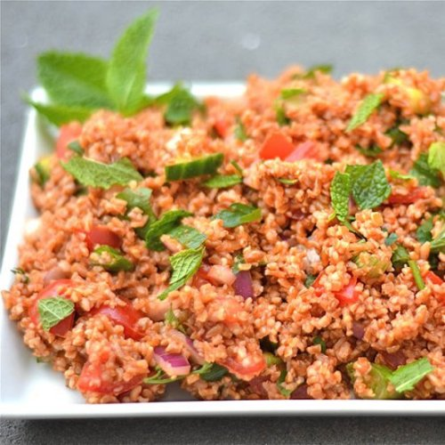 Healthy Recipes For Pregnant Women-Blood Orange Sumac Chicken Tabbouleh