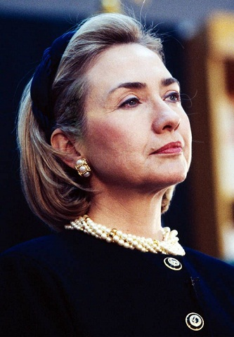Hillary Clinton without Makeup 4