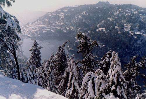 Honeymoon Places In Uttaranchal - Snow View Point