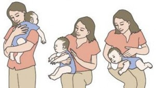How To Burp a Baby-Points to Note