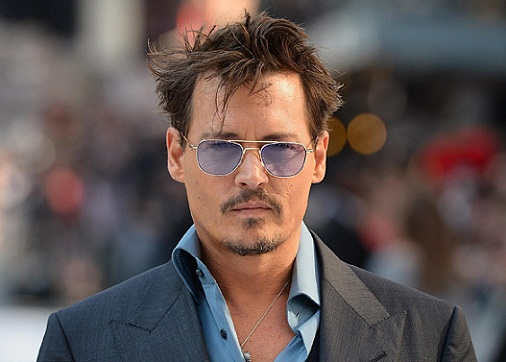 Johnny Depp without Makeup 1