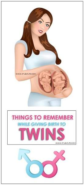 Things To Remember While Giving Birth To Twins
