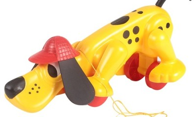 Toys For 1 Year Old Baby - Digger The Dog From Funskool