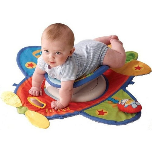 Toys For 4 Month Old Baby - The Airplane Mat