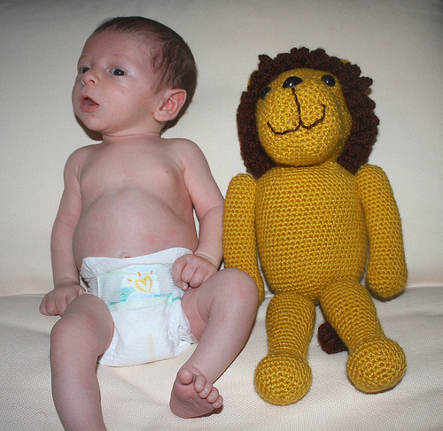 Toys For 4 Month Old Baby - The Lion Stuffed Toy